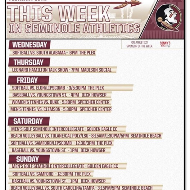 Lots of great events happening this week!  Stop by Madison St. and enjoy your game day experience with us ⚾️