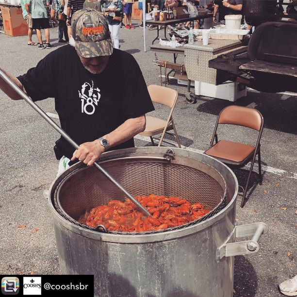 #Repost from @cooshsbr - We are officially 5 DAYS away from our Collegetown Crawfish Bawl!! Music from JB's ZydecoZoo starts at Noon