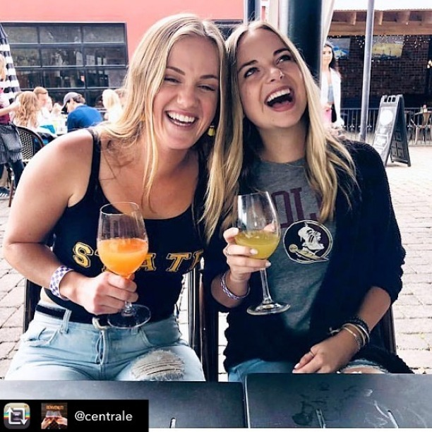 #Repost from @centrale - Bottomless brunch bubbles starts at 11AM every Saturday and Sunday (ends at 4PM). See you at 11.