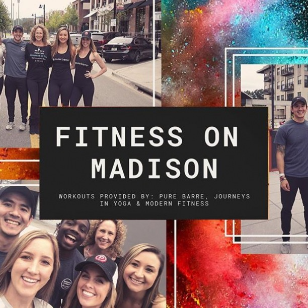 A new year = new opportunities for a fresh start, and the areas of exercise and wellness are no exception.  With that said, #CollegeTown is elated to share that Fitness on Madison is back, ladies and gents, and kicking off its first F R E E workout class of 2020 this Sunday, January 12th at 11:00 a.m.! Join us Sunday on the patio at @thegatheringtlh #OnMadison for another endorphin-releasing #FitnessOnMadison class, hosted by @modernfitnesstallahassee. This boot camp-style class combines circuit and resistance training for a full body workout, the Modern way.  The class is F R E E to anyone who would like to participate, but space is limited so sign up online now at www.modernfitnesstally.com/collegetown. Grab your bestie and get ready to sweat!