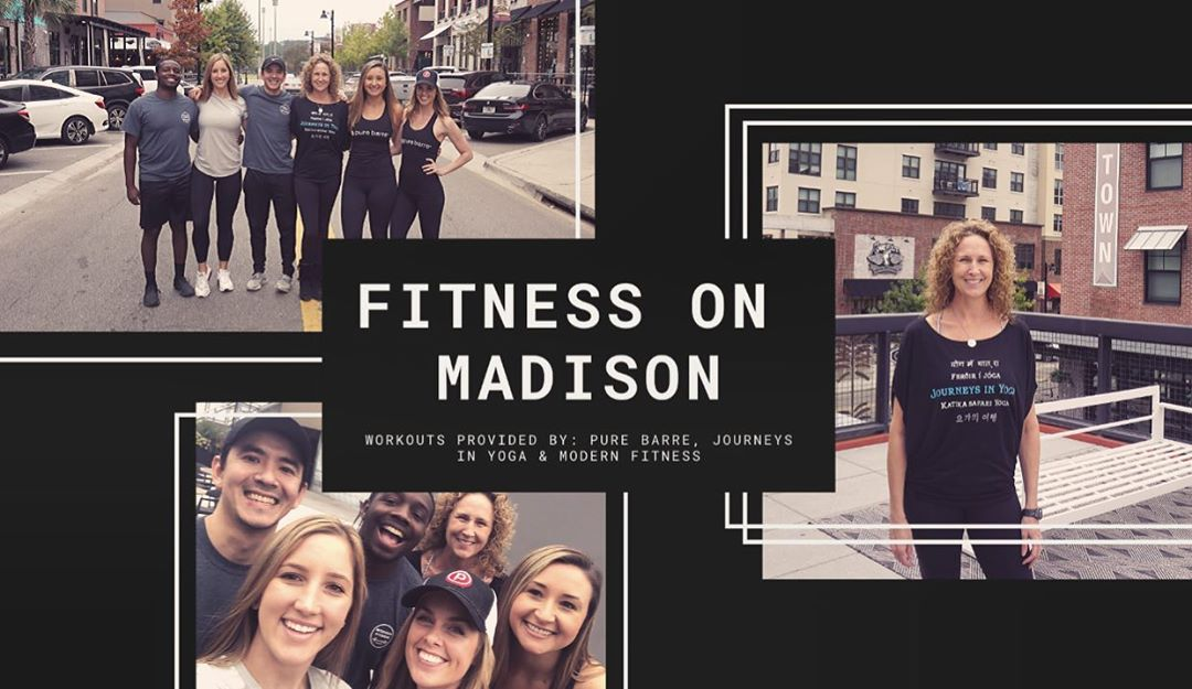 Journeys In Yoga is back for another F R E E #FitnessOnMadison yoga class in #CollegeTown this Sunday, February 23rd at 11:00 a.m.! . . .  Join us inside of the CollegeTown Flex Space #OnMadison, located on the first floor of the CollegeTown Odyssey apartment building situated on the corner of Madison and Lorene (address is 805 West Madison Street). Here, we will be warm, relaxed and ready to nama-slay the remainder of our Sunday! . . .  As an added bonus, those who participate will receive some fun perks and freebies from the following CollegeTown merchants post-class, including: - Free mimosa from Coosh's (must be 21+ years old to receive) - Free classic mimosa from ‪Madison Social, Centrale and Township (must be 21+ years old to receive) - Free salsa with the purchase of a taco or margarita at Tin Lizzy's - Free Tom Yum or Coconut Soup from Little Masa - 15% off your entire purchase from Vale - 20% off all full-priced items at Barefoot way! . . .  The class is F R E E to anyone who would like to participat